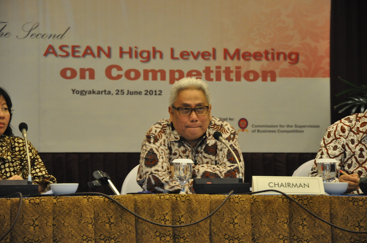 ASEAN High Level Meeting on Competition, Yogyakarta, 25 Juni 2012