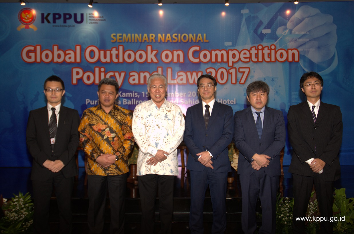 2016 Competition Week: Seminar Nasional Global Outlook on Competition Policy and Law 2017 dan Peluncuran Program Kepatuhan UU No.5 Tahun 1999, 15 Desember 2016